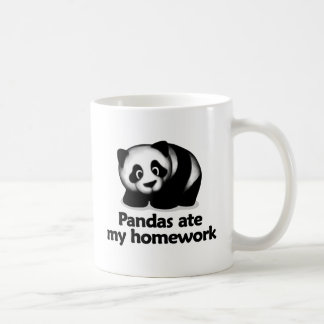 Pandas ate my homework coffee mug