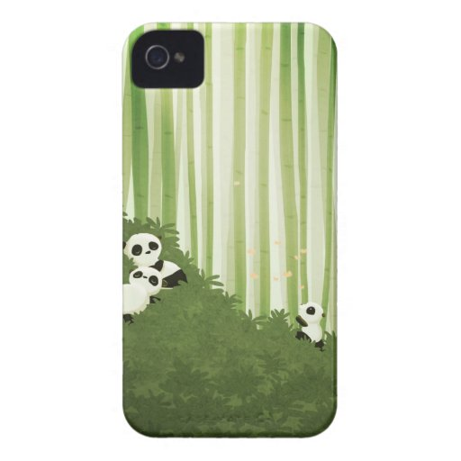Pandas by Nidhi Chanani iPhone 4 Case-Mate Cases