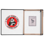 Pandas Don't Even Like Chinese Food iPad Folio Cases