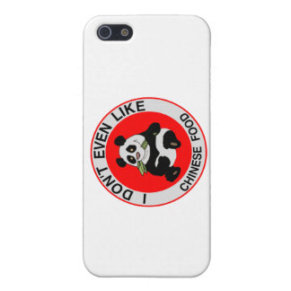 Pandas Don't Even Like Chinese Food Case For iPhone SE/5/5s