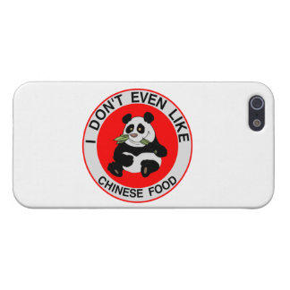Pandas Don't Even Like Chinese Food Cover For iPhone SE/5/5s