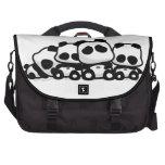 Pandas el dormir bolsas de ordenador