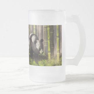 Pandas en un bosque de bambú