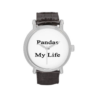 Pandas Equal My Life Watches