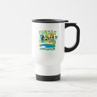 Pandas Everywhere Travel Mug