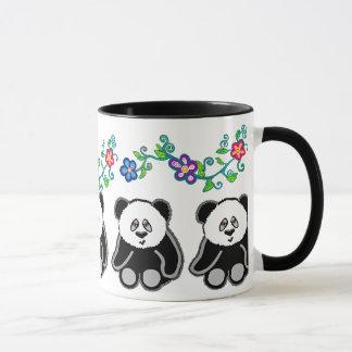 Pandas & Flowers! Mug
