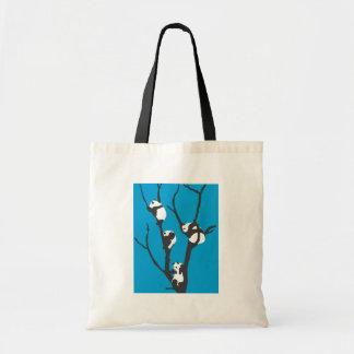 Pandas Hangin' Out Bag