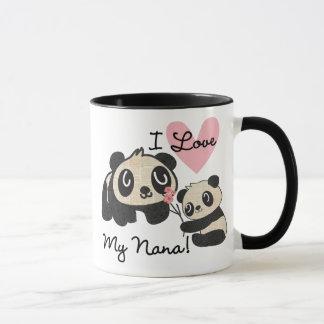 Pandas I Love My Nana Mug
