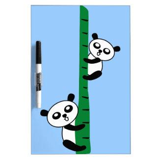 Pandas lindas pizarras