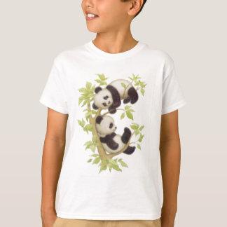 Pandas lindas playera