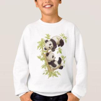 Pandas lindas remera
