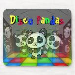 Pandas Mousepad del disco Tapetes De Raton