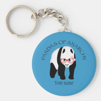 Pandas of Anarchy Keychain