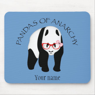 Pandas of Anarchy Mouse Pad