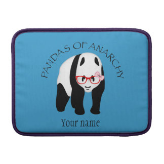Pandas of Anarchy Sleeve For MacBook Air