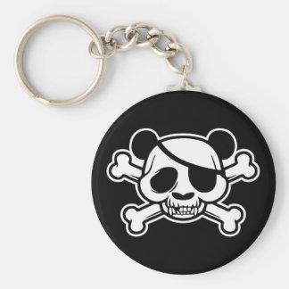 Pandas of Pandazance Basic Round Button Keychain