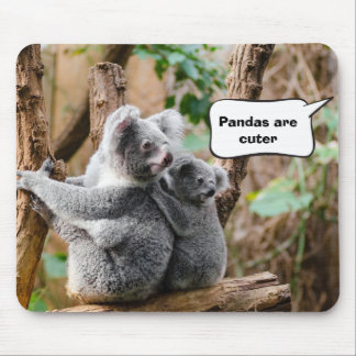 Pandas or Koalas - Which are cuter? Mouse Pad