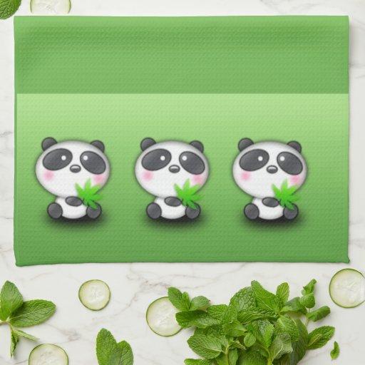 Pandas Pandas Hand Towel