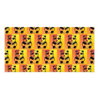 Pandas pattern card