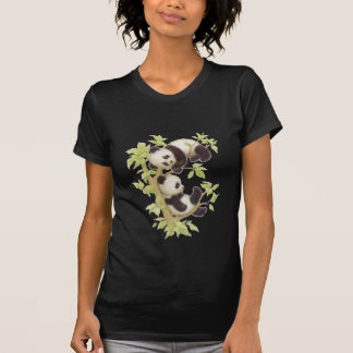 Pandas Playing in a Tree Tee Shirt