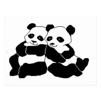 Pandas Post Cards
