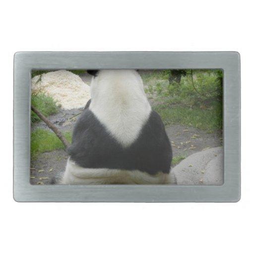 PandaSD002 Hebillas De Cinturon Rectangulares