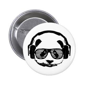 Pandaz In Da House 2 Inch Round Button