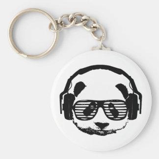 Pandaz In Da House Basic Round Button Keychain