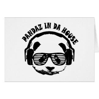 Pandaz In Da House Card