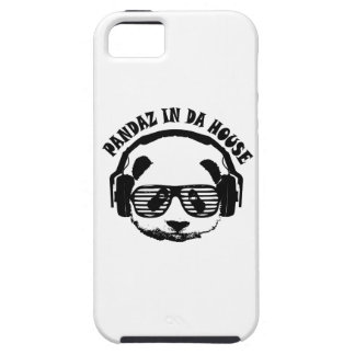 Pandaz In Da House iPhone 5 Covers