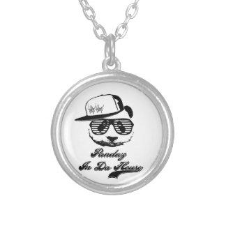 Pandaz In Da House. Ghetto panda Custom Necklace