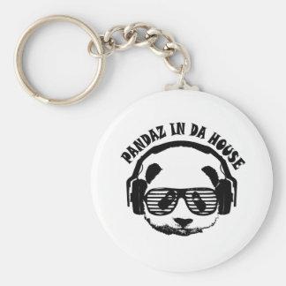 Pandaz In Da House Keychain