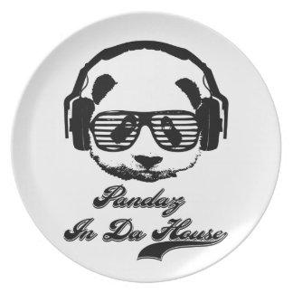 Pandaz In Da House Plate