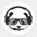 Pandaz In Da House Sticker