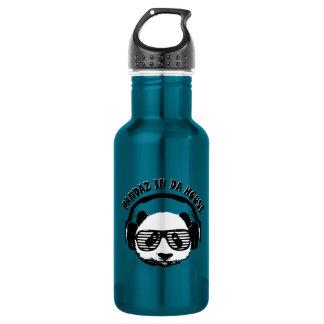 Pandaz In Da House Water Bottle