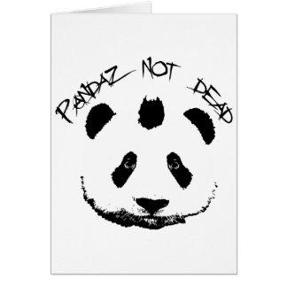 Pandaz not dead card