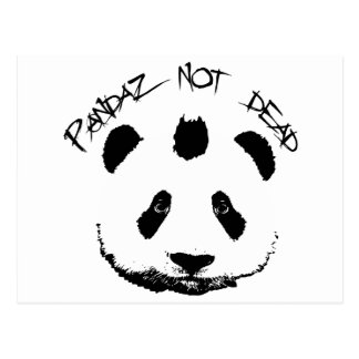 Pandaz not dead postcard