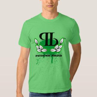 Pandemic Bird Flew Green Tees