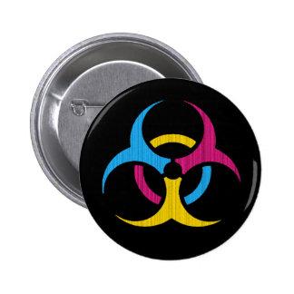 ¡Pandémico! Botón Pin Redondo De 2 Pulgadas