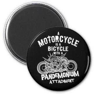Pandemonium Attachment -bw Magnet