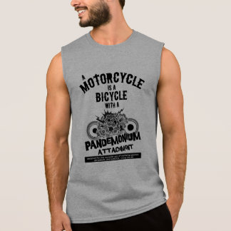 Pandemonium Attachment Sleeveless Shirt