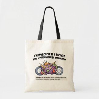 Pandemonium Attachment Tote Bag