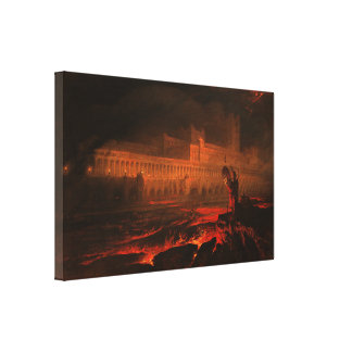 Pandemonium Gallery Wrapped Canvas