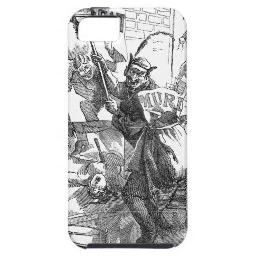 Pandemónium de los posters - Jack the Ripper iPhone 5 Fundas