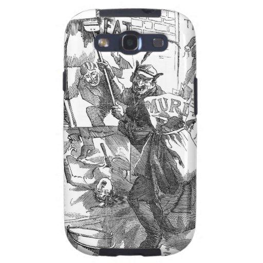 Pandemónium de los posters - Jack the Ripper Samsung Galaxy S3 Carcasas