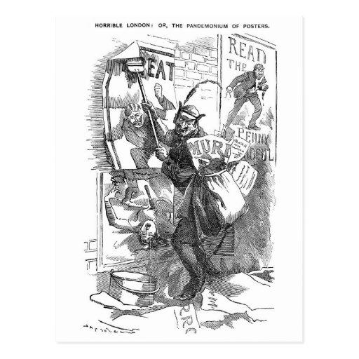 Pandemónium de los posters - Jack the Ripper Postal