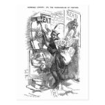 Pandemónium de los posters - Jack the Ripper Tarjetas Postales