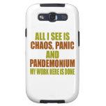 Pandemónium del pánico del caos galaxy SIII protector
