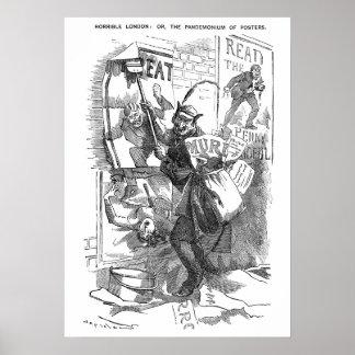Pandemonium of Posters - Jack the Ripper