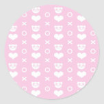 pandepik pat 1 classic round sticker